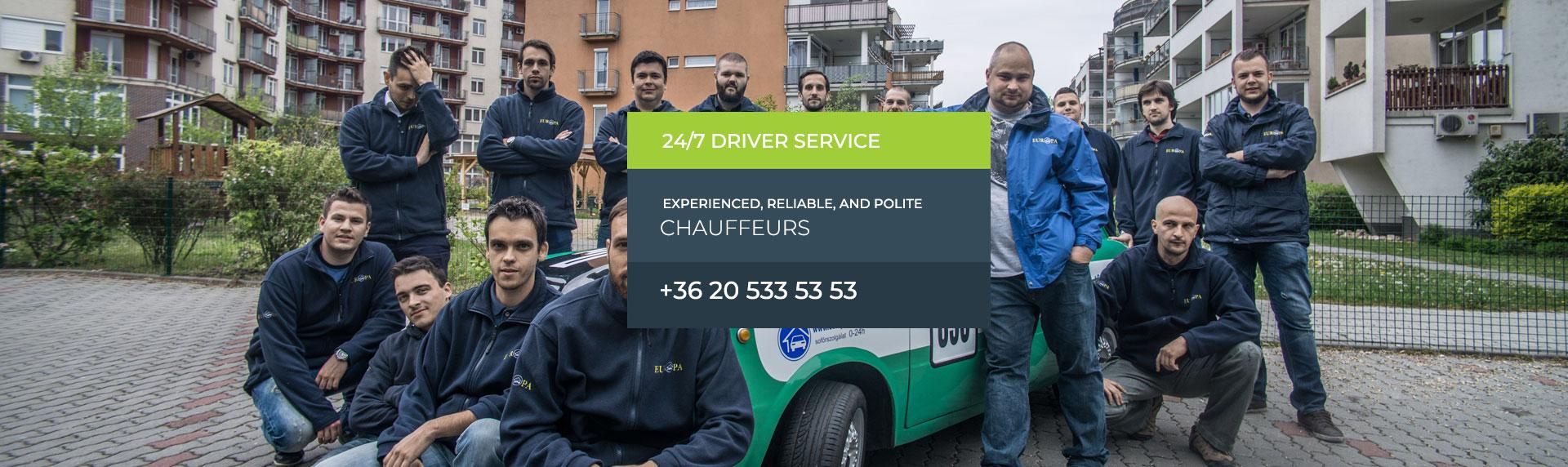 24/7 Driver service
